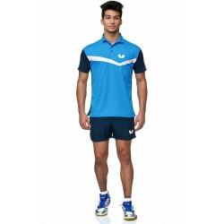 BUTTERFLY Kitao shirt blau