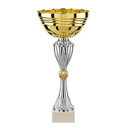 Cups gold-silver