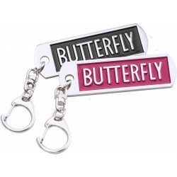 BUTTERFLY Porte-clés Logo